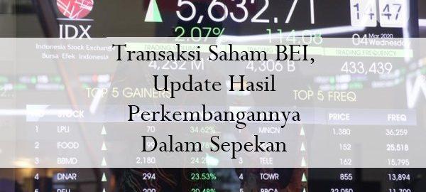 Transaksi Saham BEI