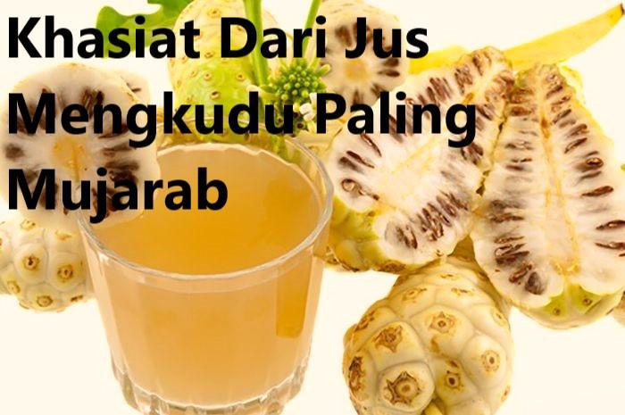 Khasiat Dari Jus Mengkudu Paling Mujarab