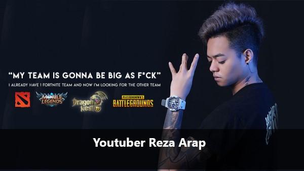 Youtuber Reza Arap